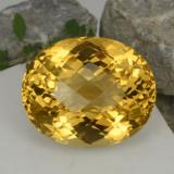 thumb image of 48.2ct Oval Checkerboard Yellow Golden Citrine (ID: 327921)