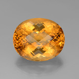 thumb image of 60.8ct Oval Checkerboard Yellow Golden Citrine (ID: 327947)