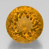 thumb image of 19.7ct Round Facet Yellow Golden Citrine (ID: 329001)