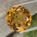thumb image of 5.3ct Round Facet Yellow Golden Citrine (ID: 329095)