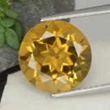 thumb image of 4.5ct Round Facet Yellow Golden Citrine (ID: 329123)