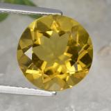 thumb image of 4.2ct Round Facet Yellow Golden Citrine (ID: 329961)