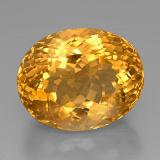 thumb image of 45.6ct Oval Portuguese-Cut Yellow Golden Citrine (ID: 331392)