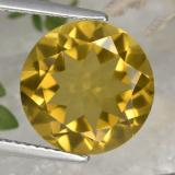 thumb image of 5.2ct Round Facet Yellow Golden Citrine (ID: 332539)
