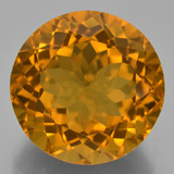 thumb image of 20.2ct Round Facet Yellow Golden Citrine (ID: 332874)