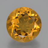 thumb image of 5.3ct Round Facet Yellow Golden Citrine (ID: 338552)