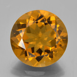 thumb image of 8.1ct Round Facet Yellow Golden Citrine (ID: 339932)