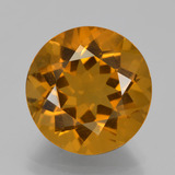 thumb image of 8.1ct Round Facet Yellow Golden Citrine (ID: 339933)
