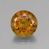 thumb image of 18.9ct Round Facet Mandarin Orange Citrine (ID: 340007)