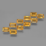 thumb image of 5ct Octagon Facet Yellow Golden Citrine (ID: 370868)