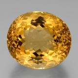 thumb image of 58ct Oval Facet Yellow Golden Citrine (ID: 377003)