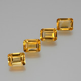 thumb image of 5.3ct Octagon Facet Yellow Golden Citrine (ID: 386664)