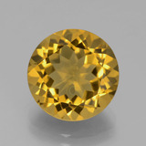 thumb image of 5.3ct Round Facet Yellow Golden Citrine (ID: 389955)