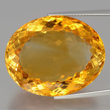 thumb image of 54ct Oval Portuguese-Cut Yellow Golden Citrine (ID: 397574)