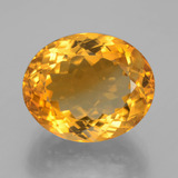thumb image of 14.4ct Oval Facet Yellow Golden Citrine (ID: 397765)