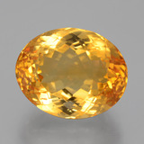 thumb image of 13.7ct Oval Facet Yellow Golden Citrine (ID: 397805)