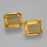 thumb image of 4.5ct Octagon Facet Yellow Golden Citrine (ID: 397960)