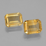 thumb image of 4.1ct Octagon Facet Yellow Golden Citrine (ID: 398009)