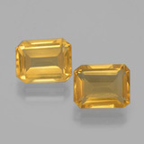 thumb image of 4.2ct Octagon Facet Yellow Golden Citrine (ID: 398010)