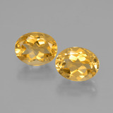 thumb image of 3.8ct Oval Facet Yellow Golden Citrine (ID: 398063)
