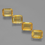 thumb image of 7.9ct Octagon Facet Yellow Golden Citrine (ID: 398152)