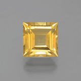 thumb image of 2.6ct Square Facet Yellow Golden Citrine (ID: 398481)