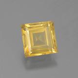 thumb image of 2.4ct Square Facet Yellow Golden Citrine (ID: 398484)
