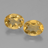 thumb image of 3.3ct Oval Facet Yellow Golden Citrine (ID: 398531)