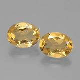 thumb image of 3.1ct Ovale sfaccettato Yellow Golden Citrino (ID: 398532)