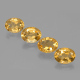 thumb image of 6.2ct Oval Facet Yellow Golden Citrine (ID: 398554)