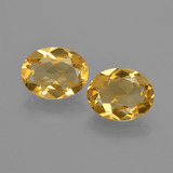 thumb image of 2.5ct Oval Facet Yellow Golden Citrine (ID: 412174)