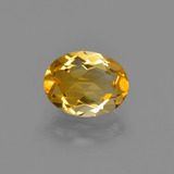 thumb image of 1.4ct Oval Facet Yellow Golden Citrine (ID: 412349)