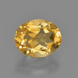 thumb image of 1.7ct Oval Facet Yellow Golden Citrine (ID: 412385)