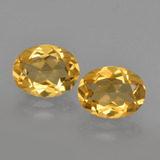 thumb image of 3.2ct Oval Facet Yellow Golden Citrine (ID: 413458)