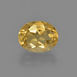 thumb image of 1.9ct Oval Facet Yellow Golden Citrine (ID: 413468)