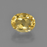 thumb image of 2.1ct Oval Facet Yellow Golden Citrine (ID: 413475)