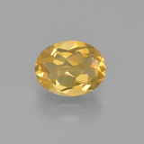 thumb image of 1.5ct Oval Facet Yellow Golden Citrine (ID: 413521)