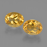 thumb image of 4ct Oval Facet Yellow Golden Citrine (ID: 413603)