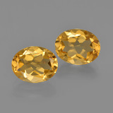 thumb image of 3.5ct Oval Facet Yellow Golden Citrine (ID: 413619)