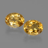 thumb image of 3.6ct Oval Facet Yellow Golden Citrine (ID: 413639)
