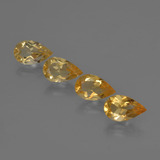 thumb image of 2.2ct Pear Facet Yellow Golden Citrine (ID: 422910)