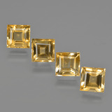 thumb image of 5.1ct Square Facet Yellow Golden Citrine (ID: 423144)