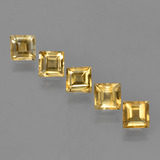 thumb image of 4.8ct Square Facet Yellow Golden Citrine (ID: 423324)