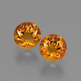 thumb image of 1.6ct Round Facet Yellow Golden Citrine (ID: 426444)