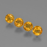 thumb image of 1.8ct Round Facet Yellow Golden Citrine (ID: 426494)