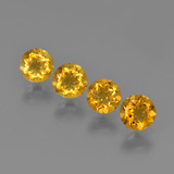 thumb image of 1.7ct Round Facet Yellow Golden Citrine (ID: 426496)