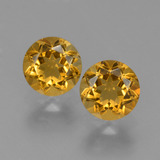 thumb image of 0.9ct Round Facet Yellow Golden Citrine (ID: 426530)