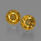 thumb image of 0.9ct Round Facet Yellow Golden Citrine (ID: 426534)