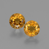 thumb image of 0.9ct Round Facet Yellow Golden Citrine (ID: 426564)