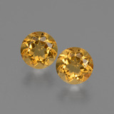 thumb image of 0.9ct Round Facet Yellow Golden Citrine (ID: 426569)